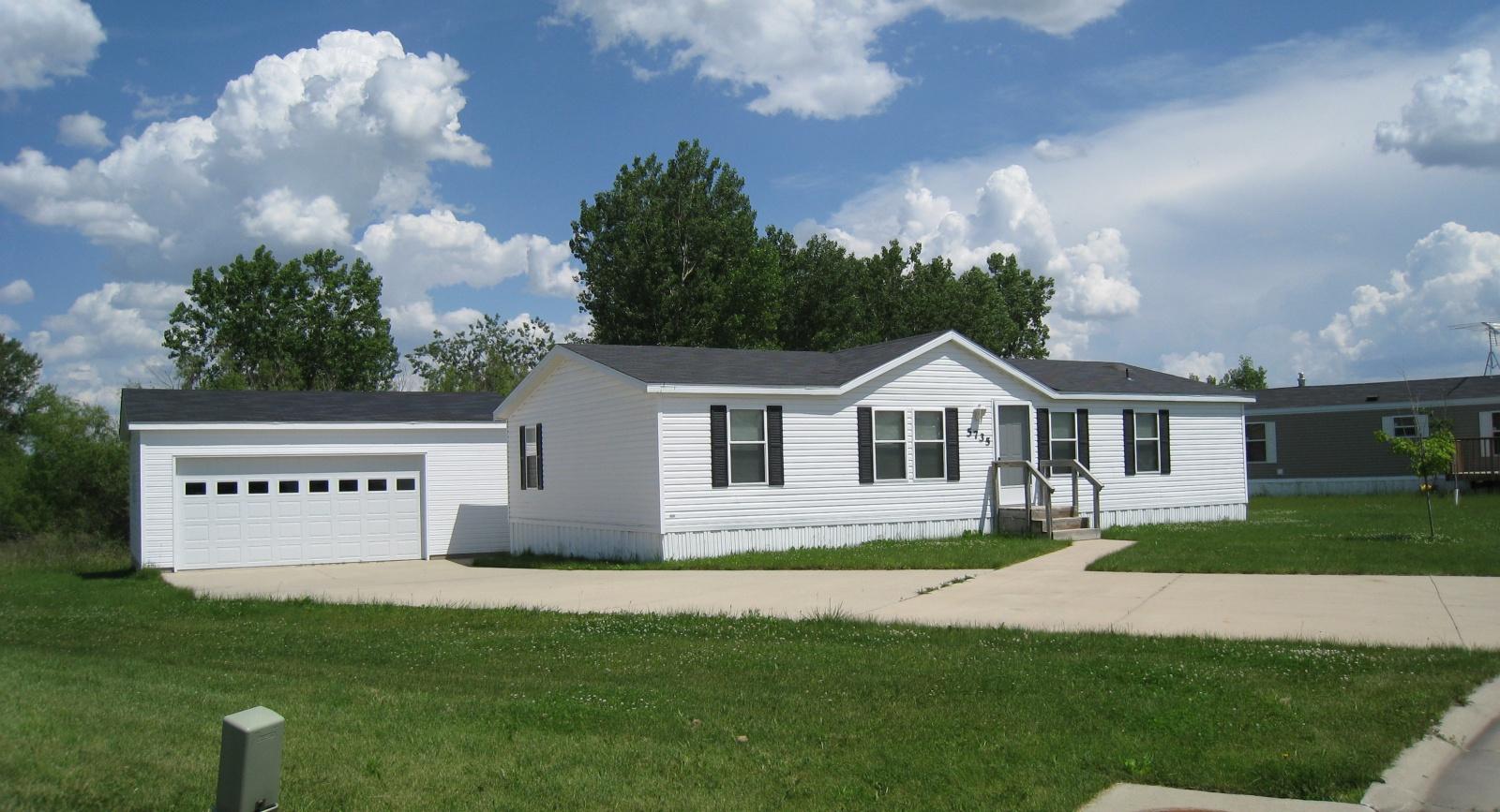 Mobile Home Plans Garage : Mobile home for sale