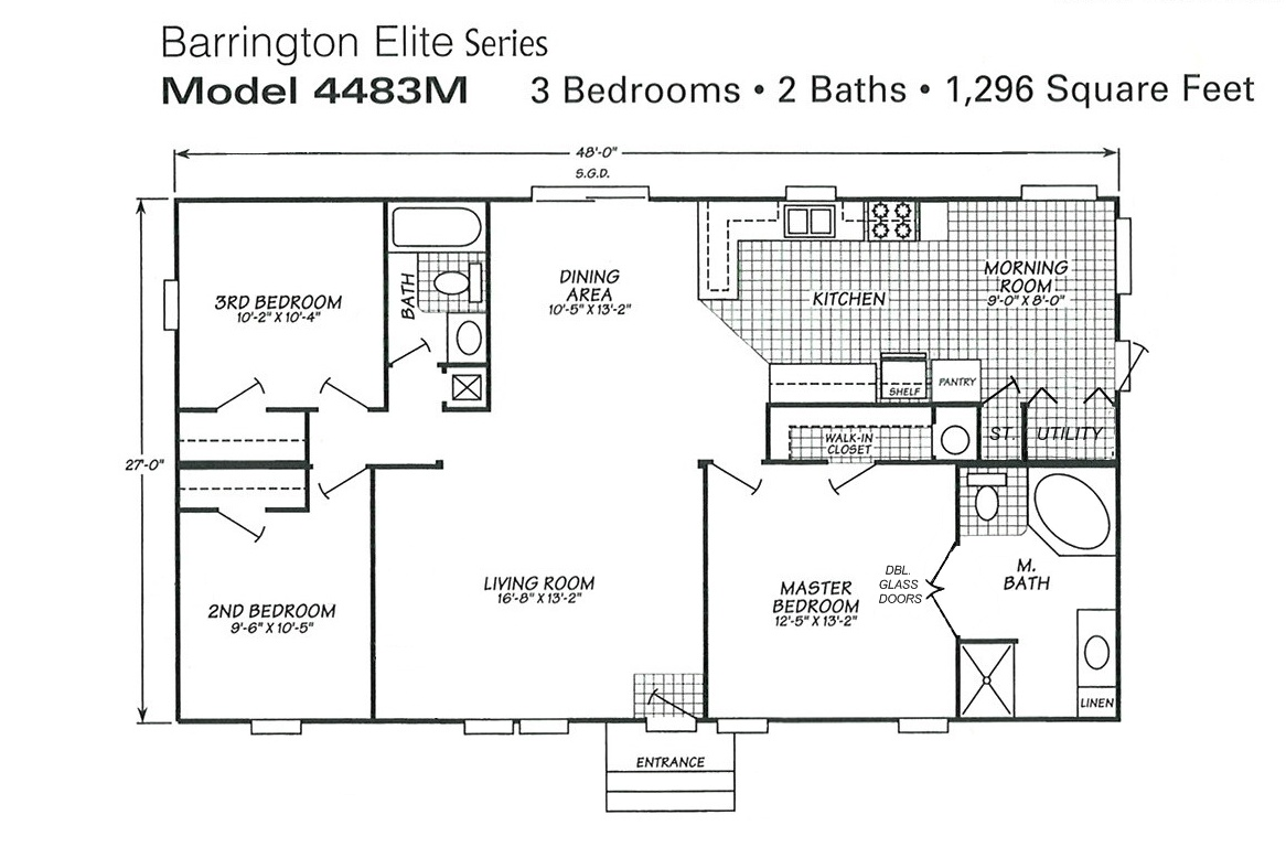 Fleetwood Mobile Home Floor Plan